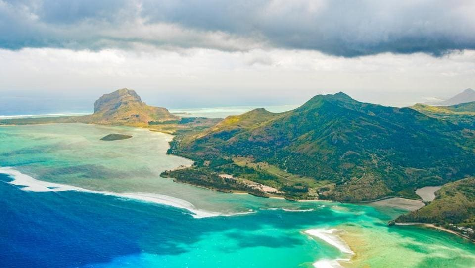 A UNESCO World Heritage Site, Le Morne Brabant is a rugged mountain peak at an altitude of 555 metres.