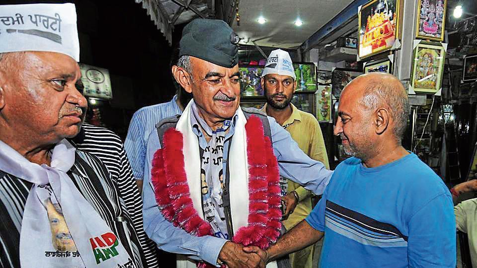 AAP,Gurdaspur,Gurdaspur Lok Sabha byelection
