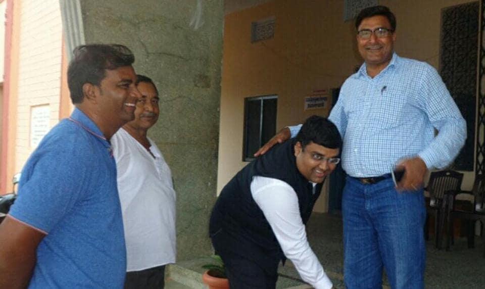 Sponsored holiday,Rajasthan govt school,Kamal Poddar