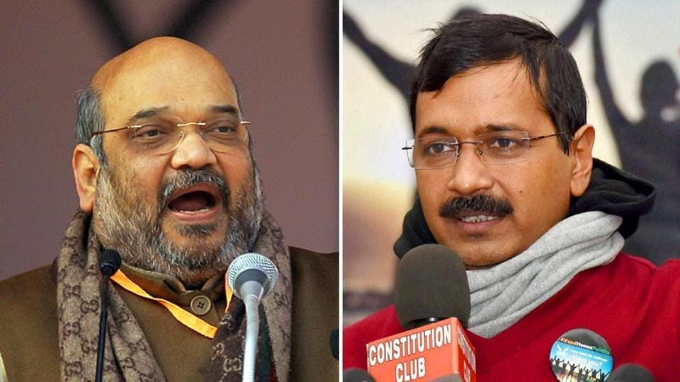 BJP chief Amit Shah's son will file a Rs 100 crore defamation suit against a website, and Delhi CM Arvind Kejriwal has offered to take over Delhi Metro. (Agency photos)
