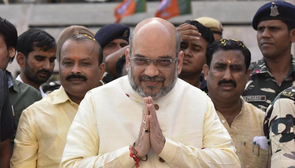 BJP president Amit Shah is set to visit Amethi, the Congress bastion in the Uttar Pradesh.