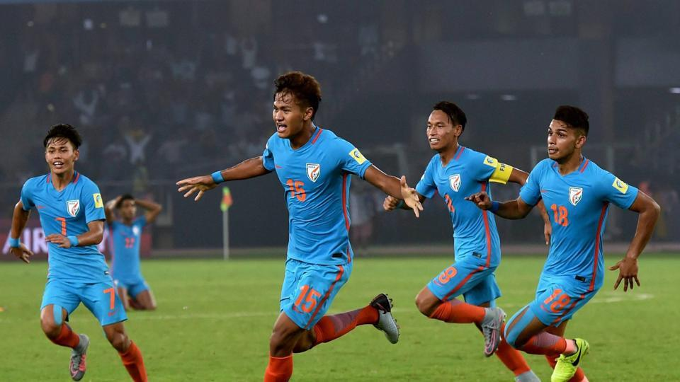Jeakson Thounaojam scored a goal for India in the FIFA U-17 World Cup encounter against Colombia but the hosts still lost the match 2-1 against Colombia thanks to a brace from Juan Penaloza.
