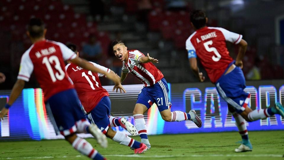 Paraguay secured a thrilling come from behind win against New Zealand as they won 4-2. (PTI)