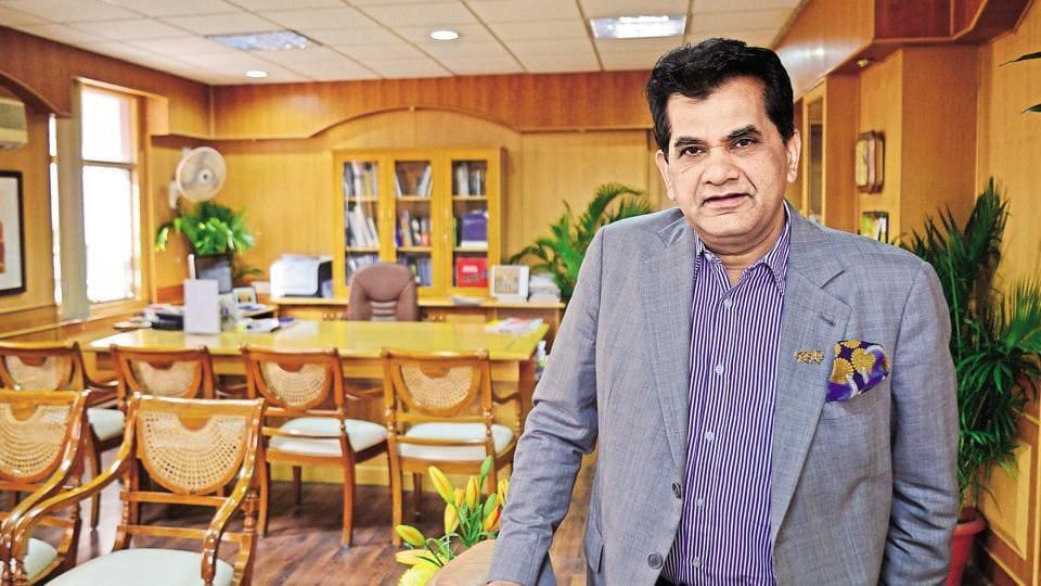 Niti Aayog CEOAmitabh Kant