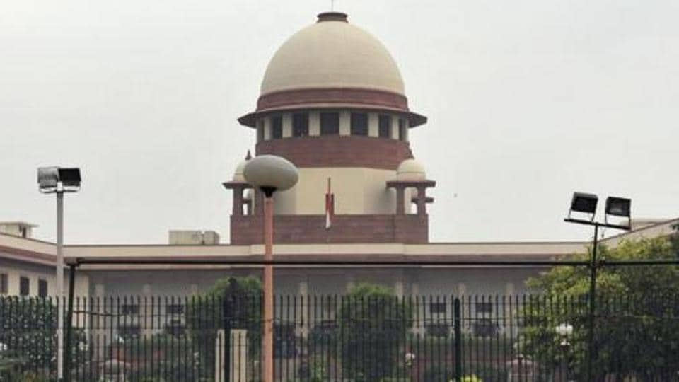 Supreme court in New Delhi.