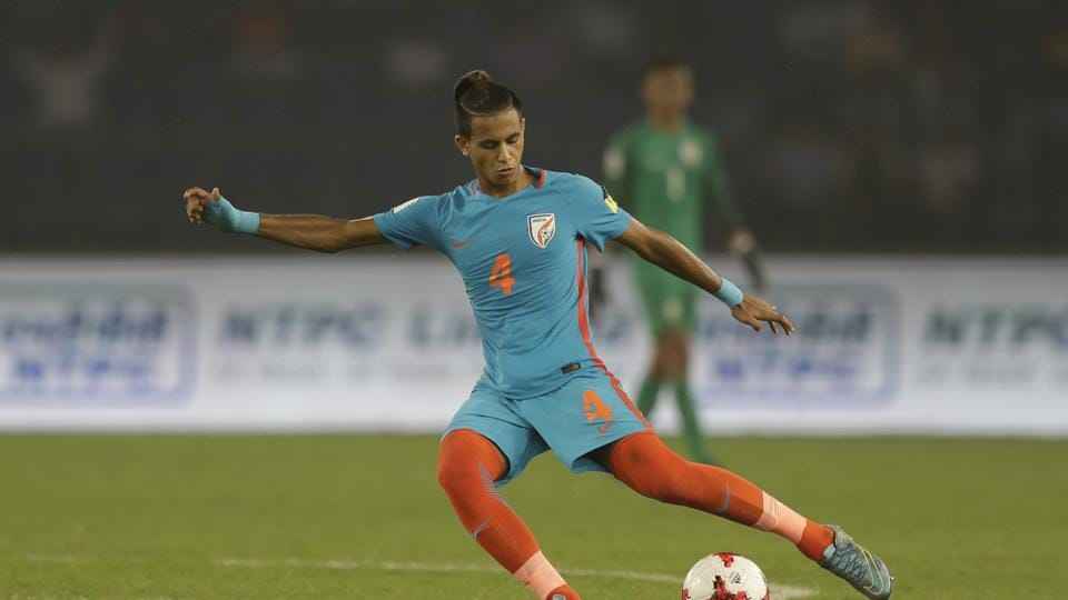 Indian football team had their chances but they failed to capitalise. (AP)