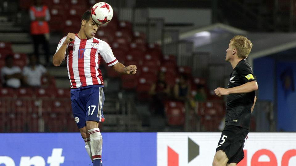 Paraguay trailed for nearly 41 minutes before making their comeback against New Zealand in FIFA U-17 World Cup match.
