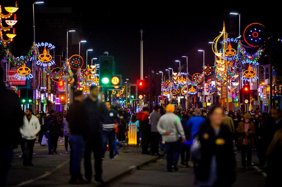 Diwali in the UK,Leicester City Council,Belgrave Road
