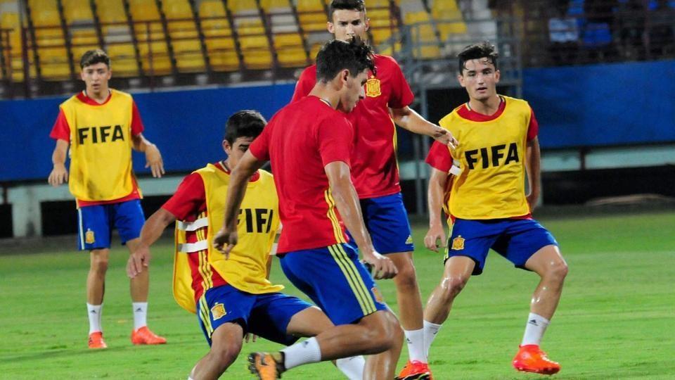 Spain will take on Niger in the FIFA U-17 World Cup in Jawaharlal Nehru Stadium in Kochi on Tuesday.