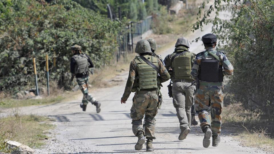 An army officer was killed while returning from patrol in Budgam district. (Waseem Andrabi / HT file photo)