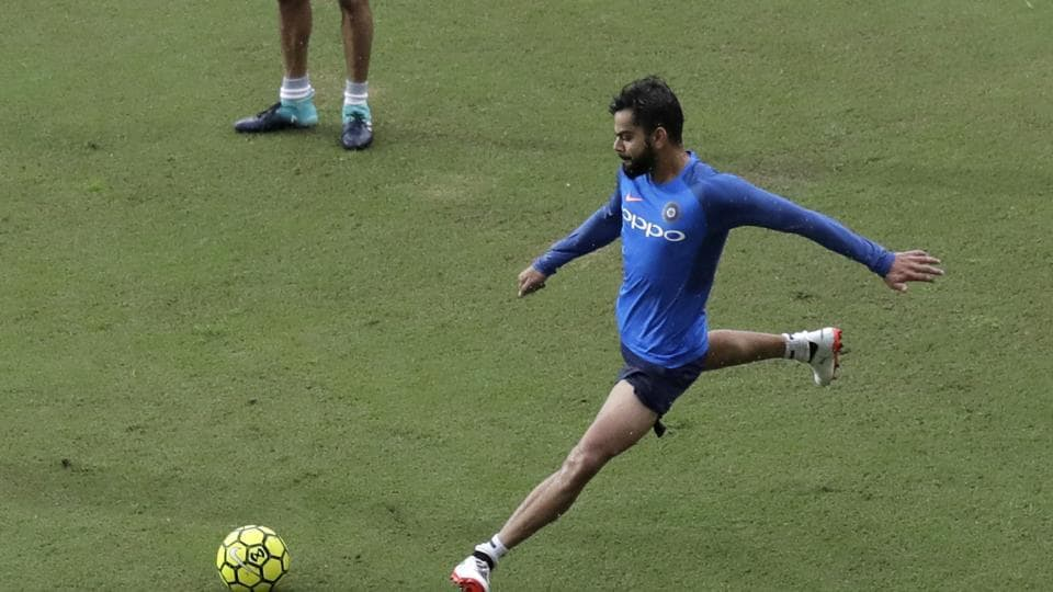 Virat Kohli has been in fine form, guiding India to a win in a rain-affected game in Ranchi. (AP)