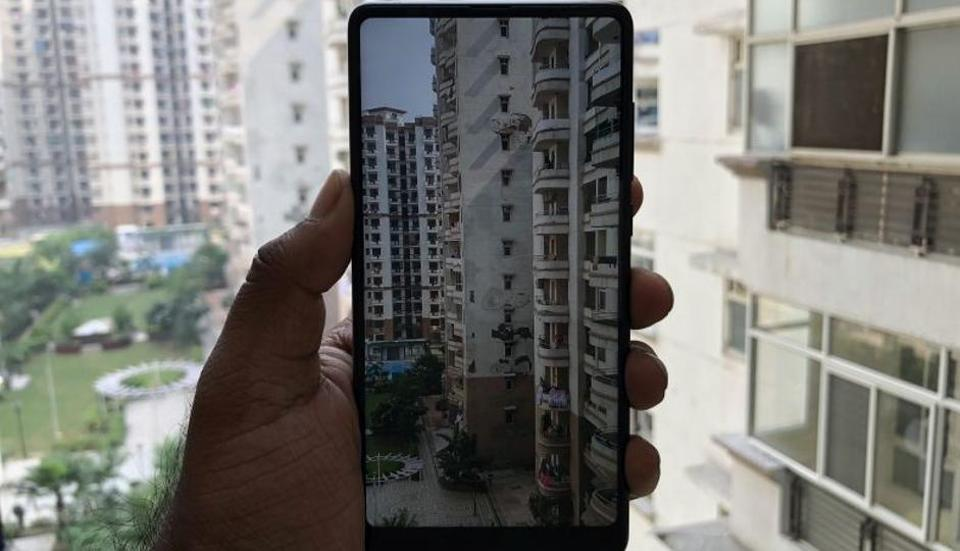 The Xiaomi Mi MIX 2 will be available via Mi.com and Flipkart from October 17.