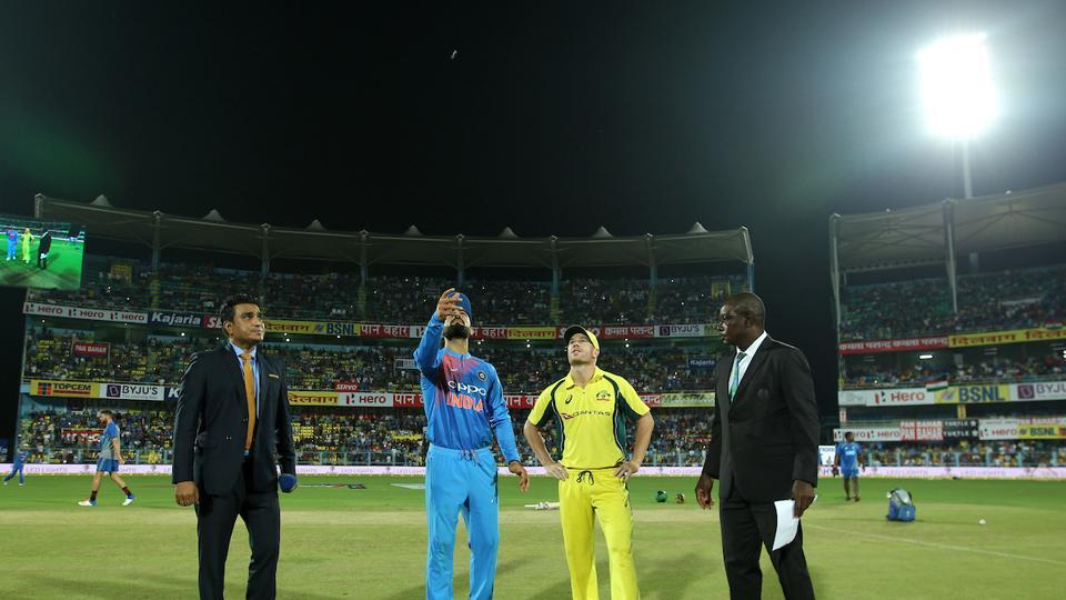 Australia captain David Warner won the toss and opted to field.  (BCCI )