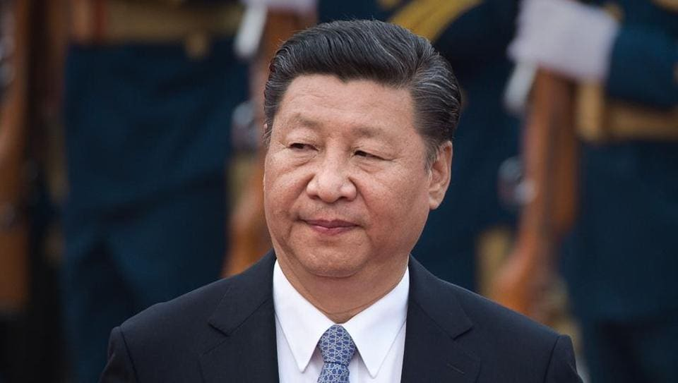File photo taken on September 13, 2017 shows Chinese President Xi Jinping during a welcome ceremony outside the Great Hall of the People in Beijing for the Sultan of Brunei Hassanal Bolkiah (not seen). Xi, 64, is expected to be given a second five-year term as the powerful general secretary of the Communist Party at its 19th Congress on October 18.