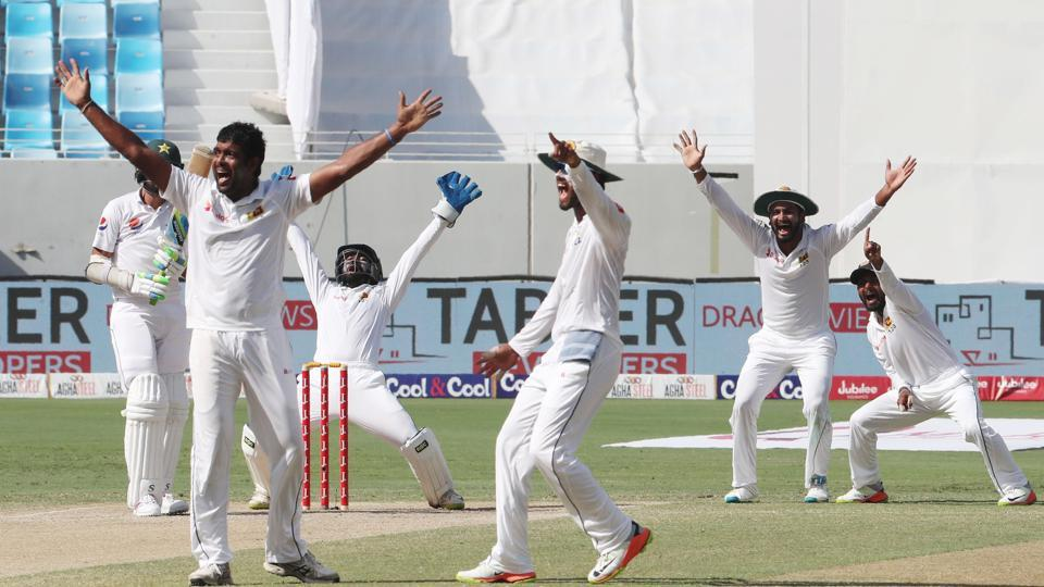 Sri Lanka beat Pakistan by 68 runs in the second Test on the fifth and final day in Dubai on Tuesday to take the two-match series 2-0.