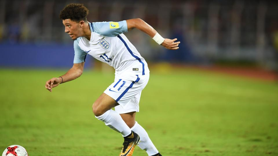 Mexico will need to keep an eye on England's Jadon Sancho when the two meet in FIFA U-17 World Cup match on Wednesday.