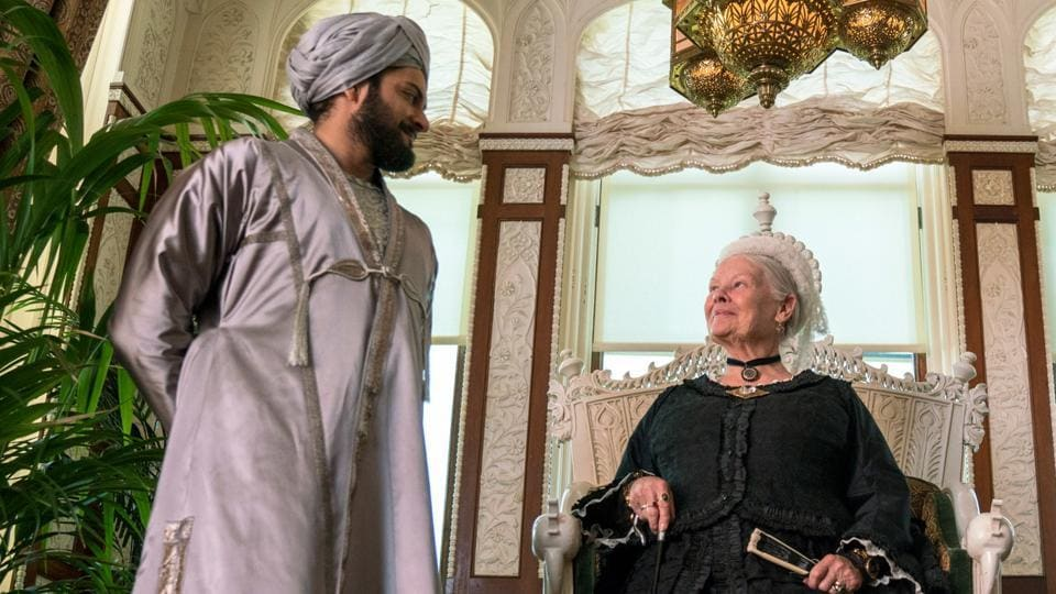 In this image released by Focus Features, Judi Dench (Right) and Ali Fazal appear in a scene from Victoria and Abdul.