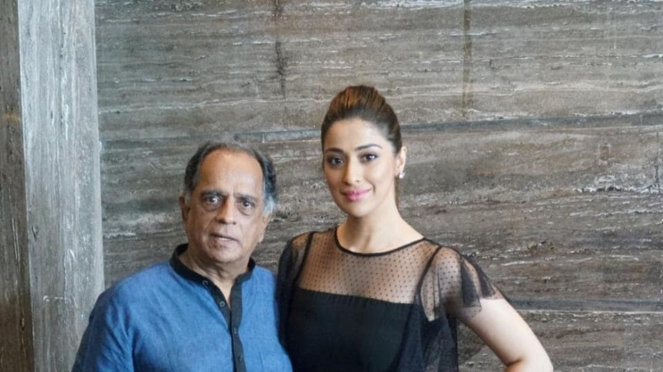 The release date of Julie 2 was shifted to November 10. Raai Laxmi and former chief of the Central Board of Film Certification Pahlaj Nihalani in a file photo.