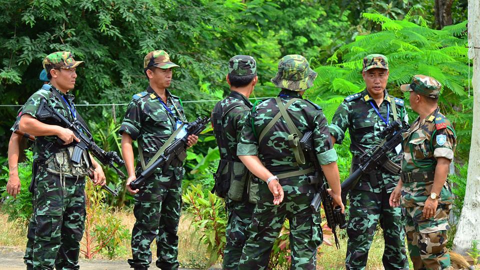 Police sources said the National Socialist Council of Nagaland (Khaplang), which is active in Longding district in Arunachal Pradesh, was behind the attack.