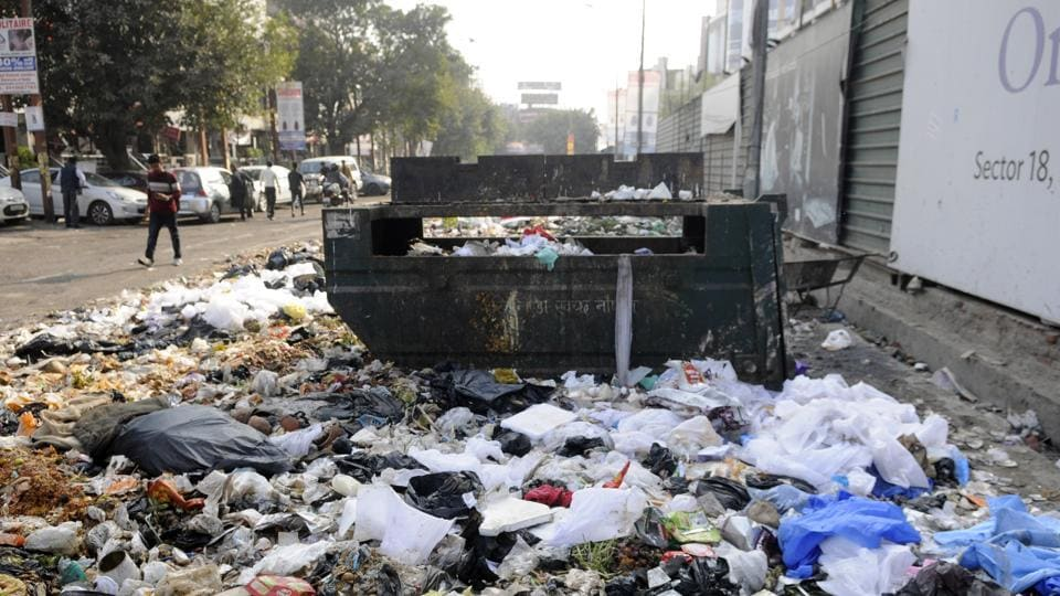 After the NGT order, the Noida authority is left with no site where they can dump their waste collected from the households in residential and industrial areas.