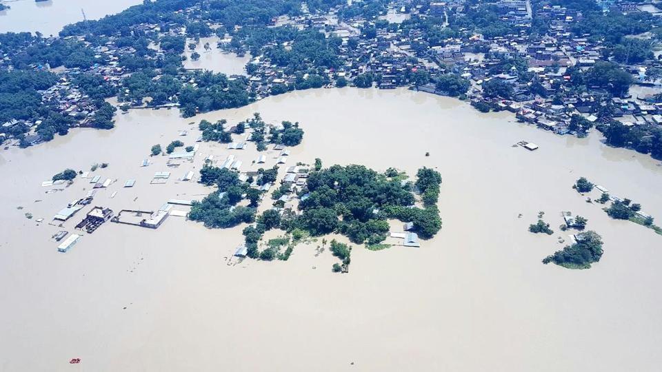 Bihar floods,Bihar flash floods,Pashchim Champaran