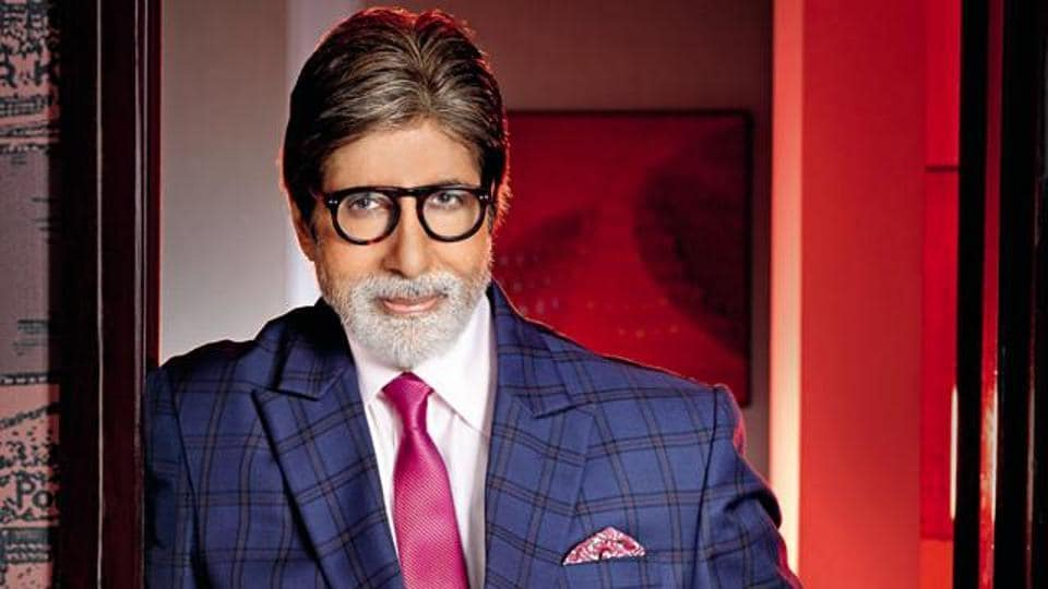 Actor Amitabh Bachchan turns 75 today.