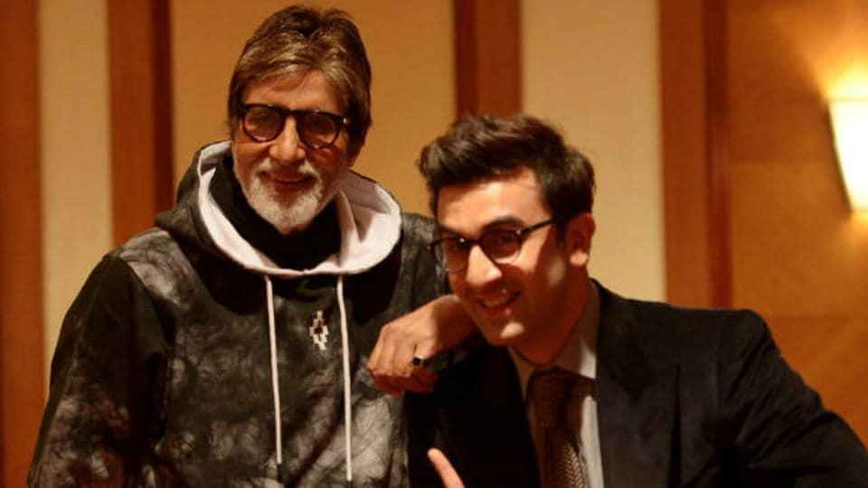 Amitabh Bachchan,Karan Johar,Ranbir Kapoor