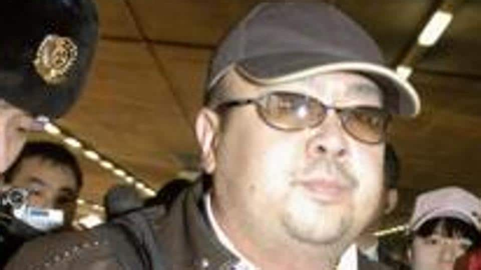 Police say the face of Kim Jong-un's half-brother Kim Jong Nam was smeared with VX nerve agent.