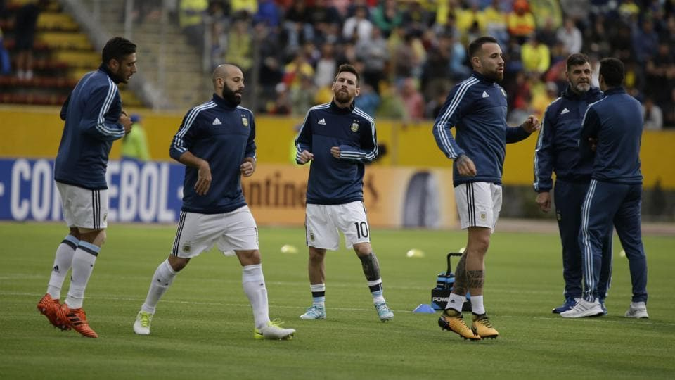 Argentina needed a win against Ecuador to qualify for the 2018 FIFA World Cup in Russia. (AP)