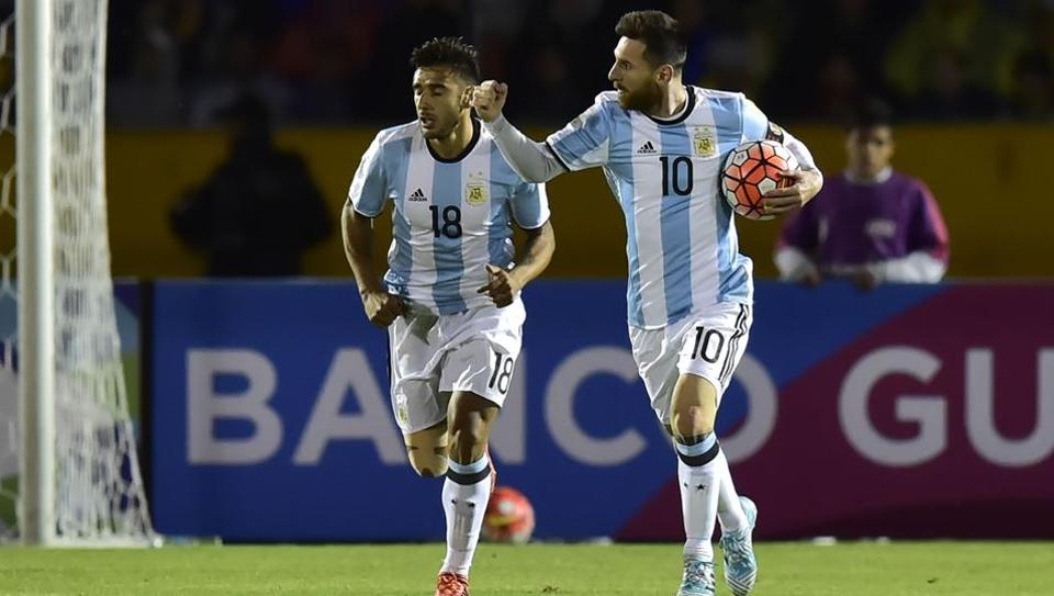 Lionel Messi,2018 FIFA World Cup in Russia,FIFA World Cup qualifiers