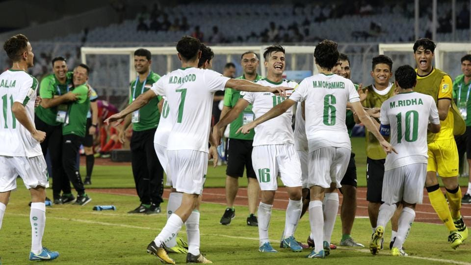 Iraq just need a draw from their final group game against England to make it top the round of 16 of FIFAU-17 World Cup.