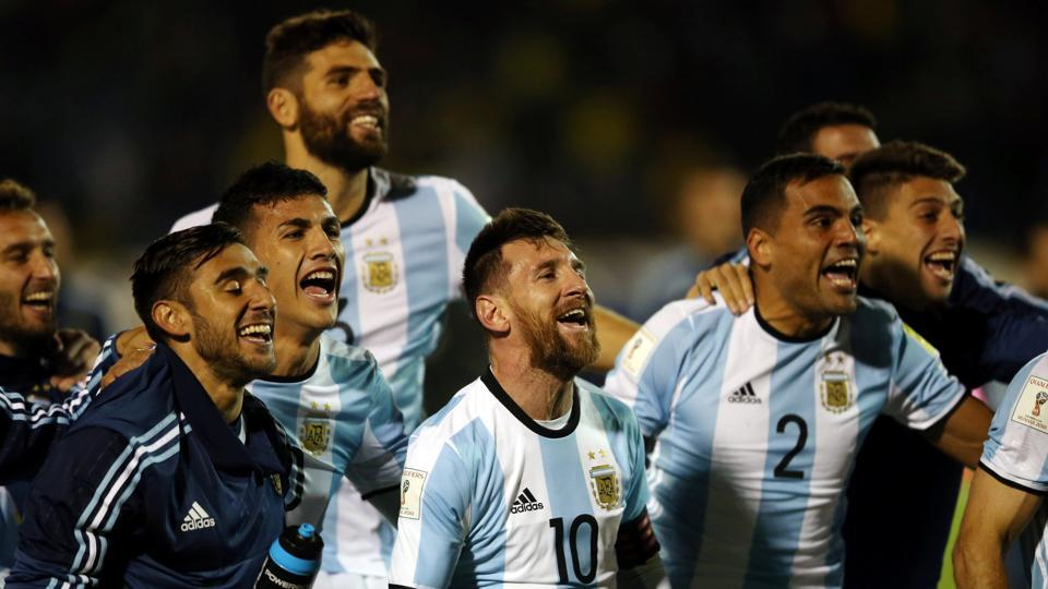 After 90 minutes, Argentina's Lionel Messi and teammates were celebrating their victory and qualification to the FIFA World Cup. (REUTERS)