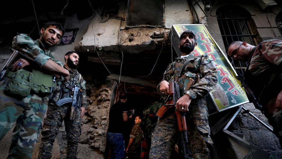 Damascus,Suicide bombing,Damascus police