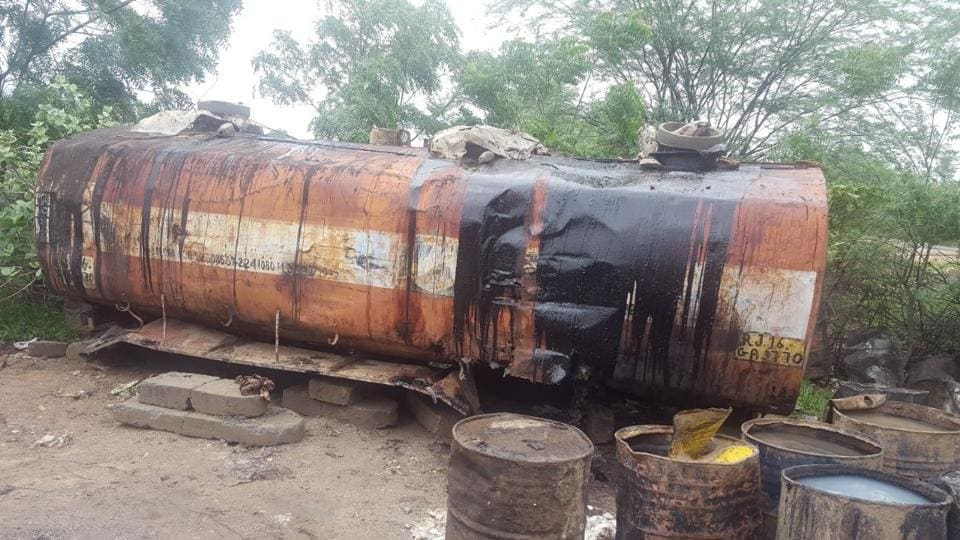 On July 22, the Barmer police unearthed a criminal syndicate accused of smuggling more than 50 million litres of crude oil inside water tankers from India's largest onshore oilfield in Barmer.