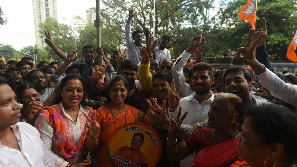 BJP wins Mumbai's Bhandup bypoll, but Shiv Sena maintains lead in BMC