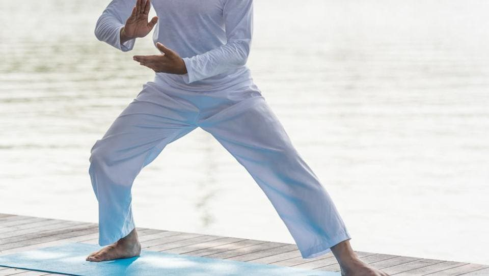 Tai Chi is characterised by slow, rhythmic and meditative movements, which enables the performer to find peace and calm within the mind and heart.