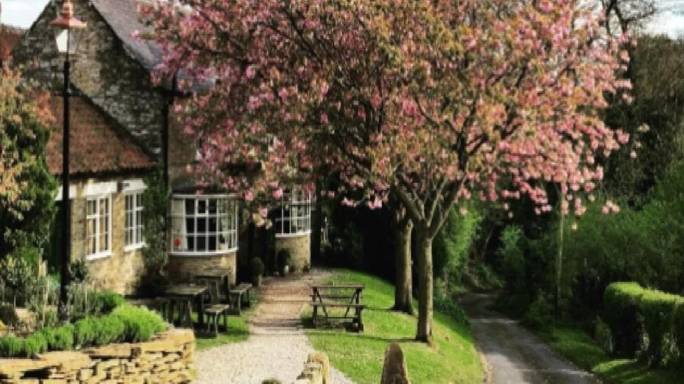 The Black Swan is located at Oldstead in North Yorkshire.