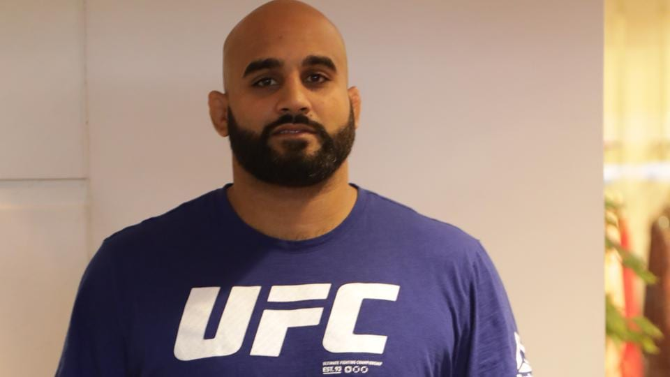 Arjan Singh Bhullar,Mixed martial arts,MMA