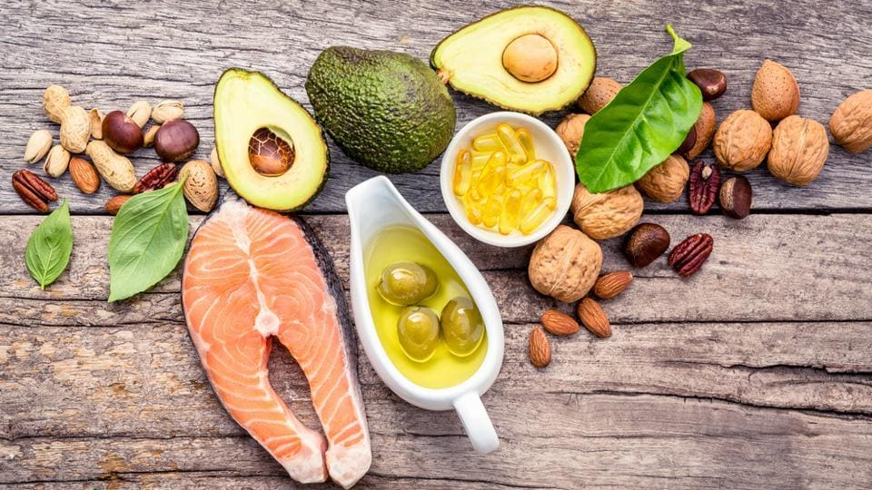 Omega-6 is found in fish, nuts, bean and seed oils such as soybean and sunflower oils.