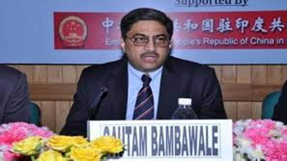 Gautam Bambawale,Indian envoy to China,India