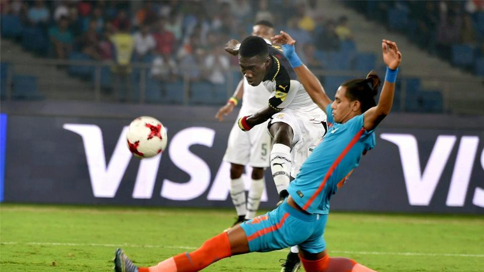 Ghana were creating chances but they failed to capitalise and break the deadlock. (PTI)