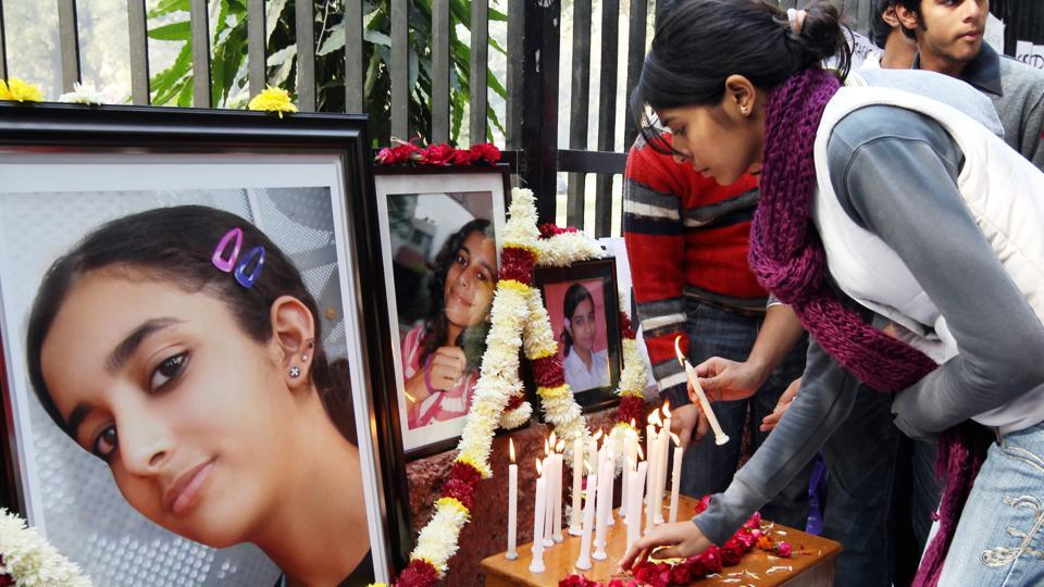 Aarushi was found murdered inside her bedroom in the Talwar's flat in Noida's posh Jal Vayu Vihar — her throat slit with surgical precision