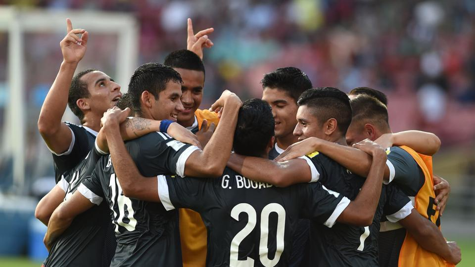With this win, Paraguay became the first undefeated team so far to enter the round of 16. (AFP)