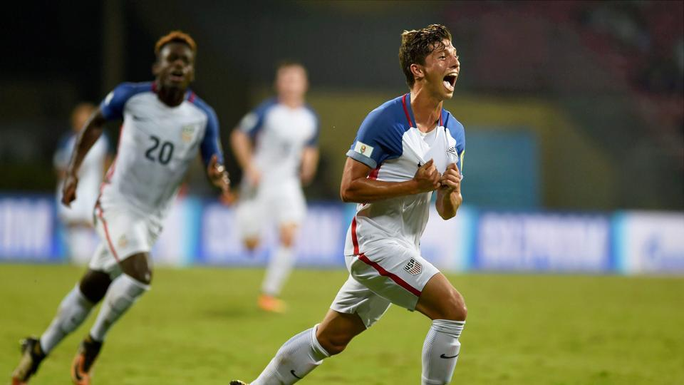 George Acosta scored a goal for the United States of America as they looked to seal the spot in the next round. (PTI)