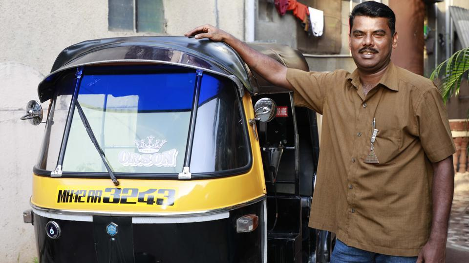Sylvester Anthony,rickshaw,auto driver