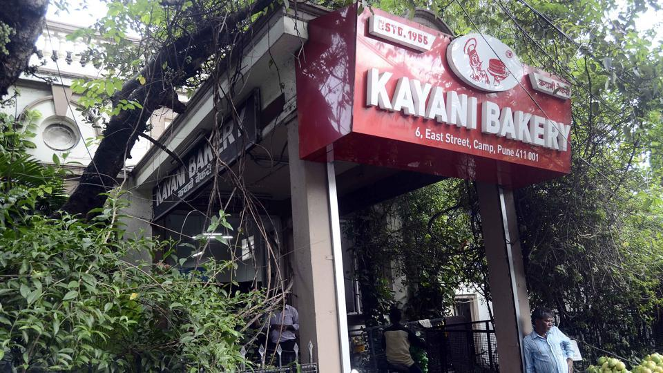 Kayani Bakery on East Street in Pune Cantonment Board area.