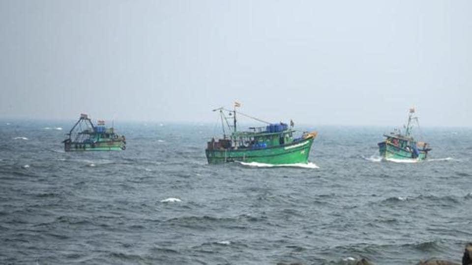Five Tamil Nadu fishermen arrested by Lankan Navy