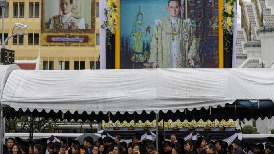 The late king was succeeded by his son, King Maha Vajiralongkorn, or Rama X. A strong bond has been formed between the people and the monarchy – the strongest compared to past reigns, Tongthong told Reuters, adding that more people will be seen participating in the royal funeral of this people's king. (Athit Perawongmetha / REUTERS)
