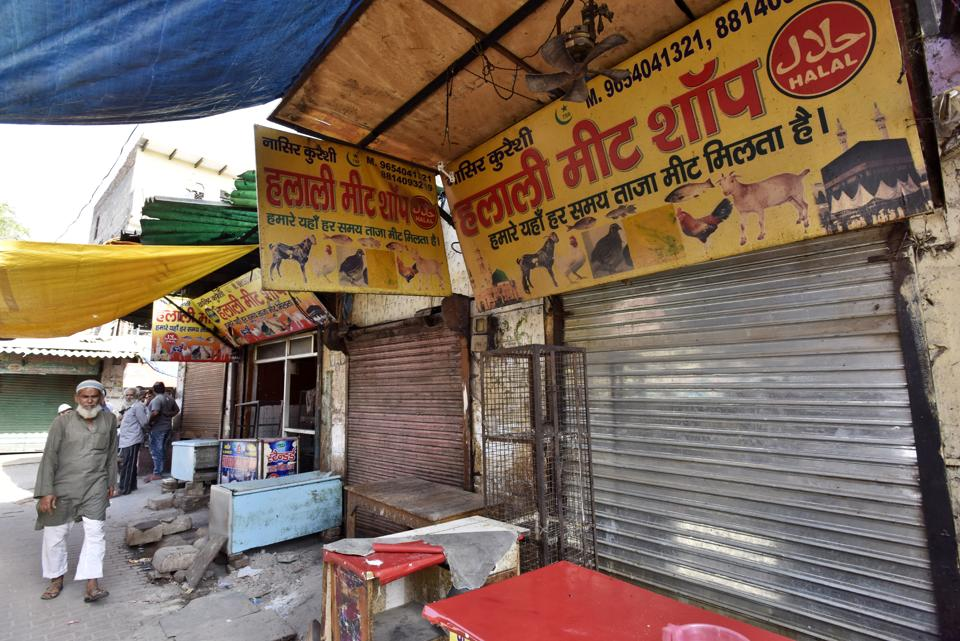 Haryana CM had ordered that no licences should be issues to meat shops in residential areas.