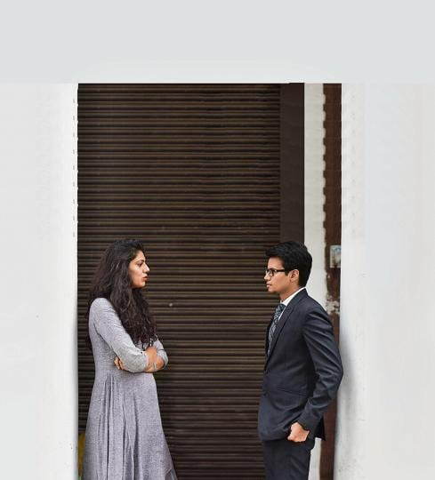 Mrinalini Arora and Prateek Sarpal are both young professionals, but their attitudes are different when it comes to finding a life partner.